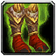 Crafted Malevolent Gladiator's Boots of Alacrity