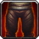 Crafted Dreadful Gladiator's Satin Leggings