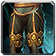 Crafted Malevolent Gladiator's Ornamented Legplates