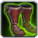 Honorable Combatant's Satin Boots